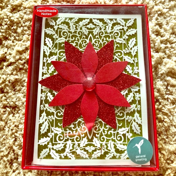 Papyrus Christmas Cards.New Handmade Christmas Cards Papyrus Nwt